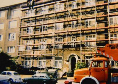 Außenansicht Renovierung Gebäude