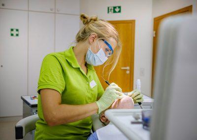 Behandlungssituation Praxis Dr. Liepe & Kollegen